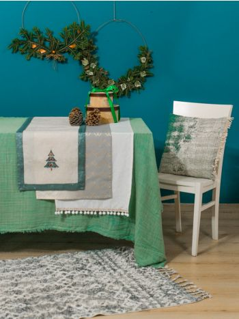 Table Linens Christmas Tree