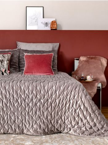 Duvet Luxury Velvet Grey-Beige