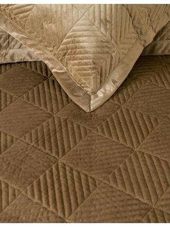 Pillowcases Set Luxury Triangle Coffee