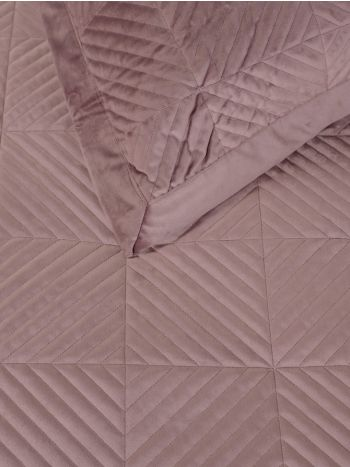 Pillowcases Set Luxury Triangle Pink