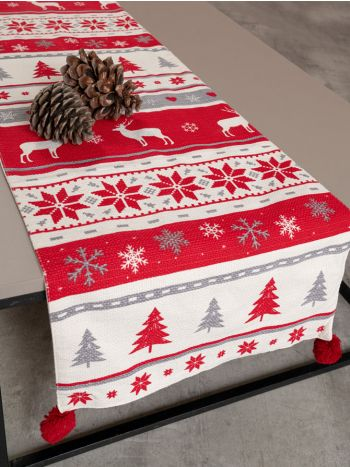 Table Runner Reindeer