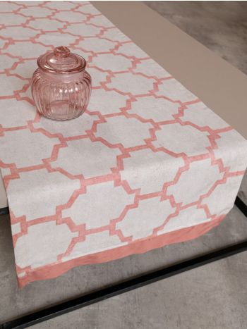 Table Runner Chain Coral