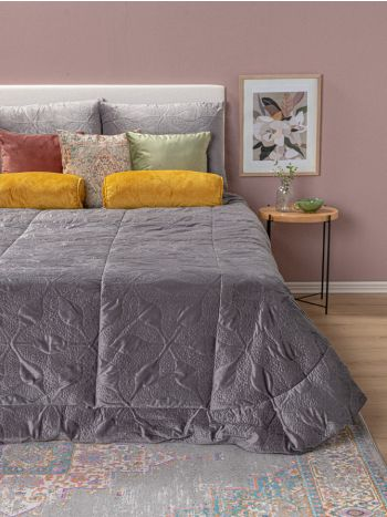 Duvet Set 3pieces Bouti Grey