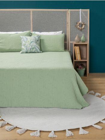 Blanket Symmetry Living 240x260 Eucalyptus Green