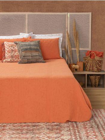 Blanket Symmetry Living 240x260 Eucalyptus Peach