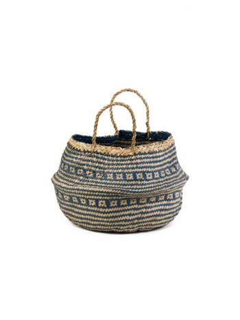 Straw Basket Puffin