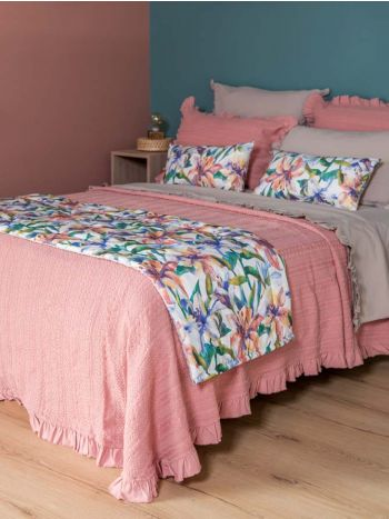 Blanket Mary Coral