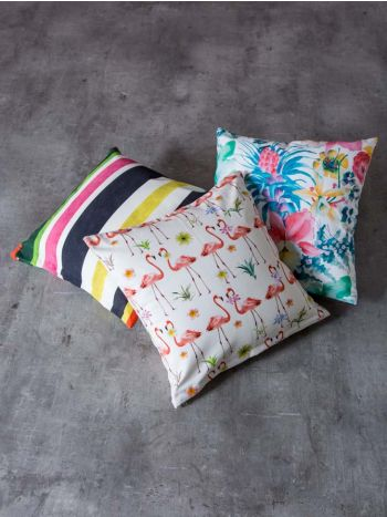 Decorative Pillows Flamingo - Multi - Guam