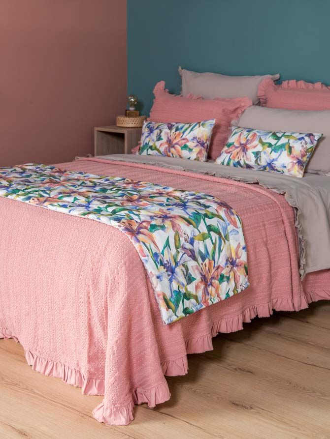 Κουβέρτα Mary Coral